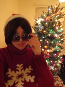 Coco Adel (RWBY) is all about holiday fashion.