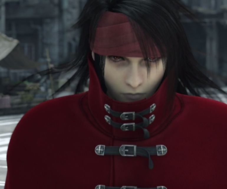 Vincent Valentine in Final Fantasy Advent Children