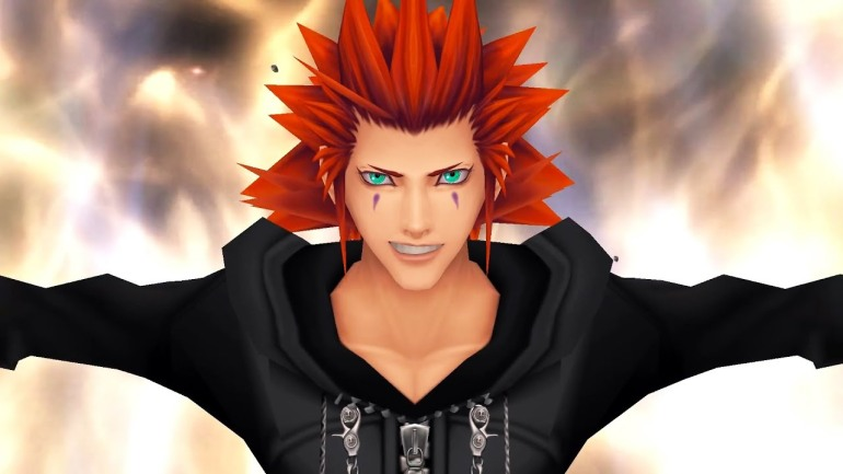 Axel from KH with fire