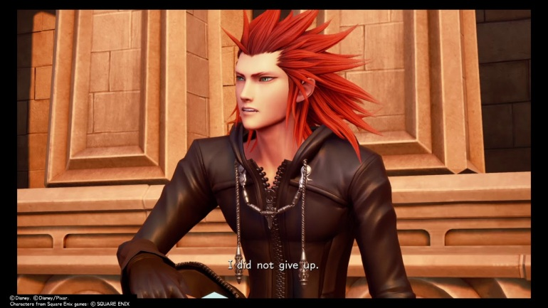Lea on clocktower KH3